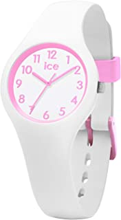 Ice-Watch - Ice Ola Kids Candy White - Montre Blanche pour Fille avec Bracelet en Silicone - 015349 (Extra Small)