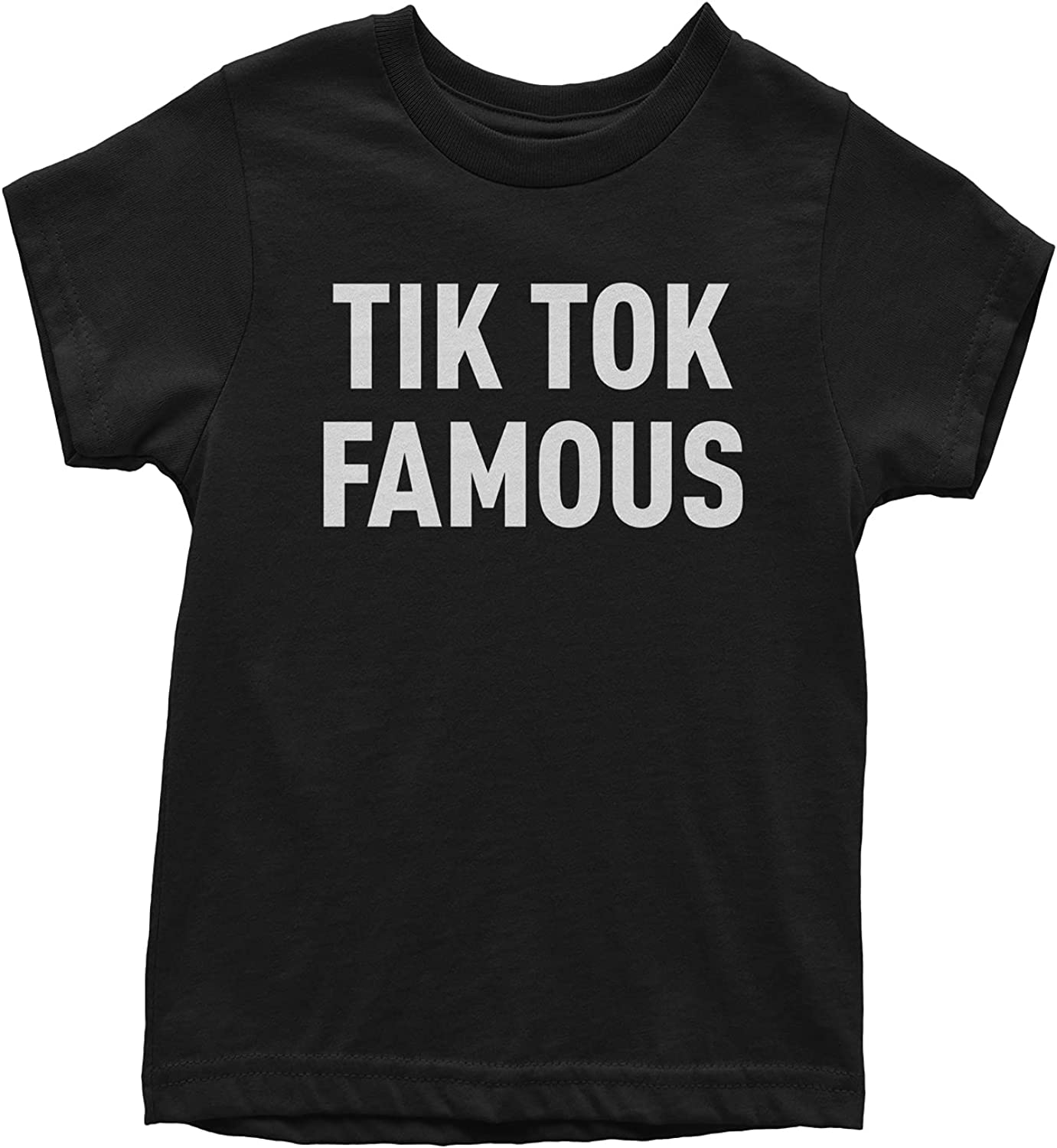 Expression Tees TIK Tok Famous Youth T-Shirt