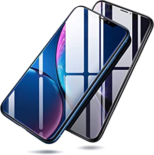Screen Protector Compatible iPhone XR, [2-Pack] iPhone XR Tempered Glass Screen Protector for Apple 6.1 (2018), Ultra Slim [Case Friendly] & Anti-Fingerprint by Ainope[Transparent]