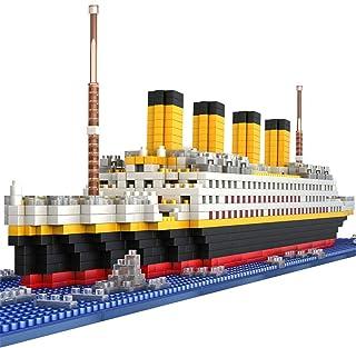 Titanic Model Building Blocks Micro Mini Bricks 3D Puzzle Set Educational Toys