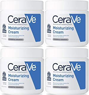 CeraVe Moisturizing Cream, 16 Ounces each (Value Pack of 4)