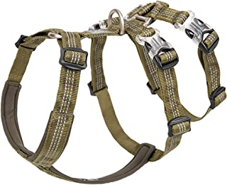 Chai's Choice Best Double H Trail Runner No-Pull Dog Harness. 3M Reflective with Premium Materials. Small, Medium, Large Dogs.Please Use Sizing Chart at Left