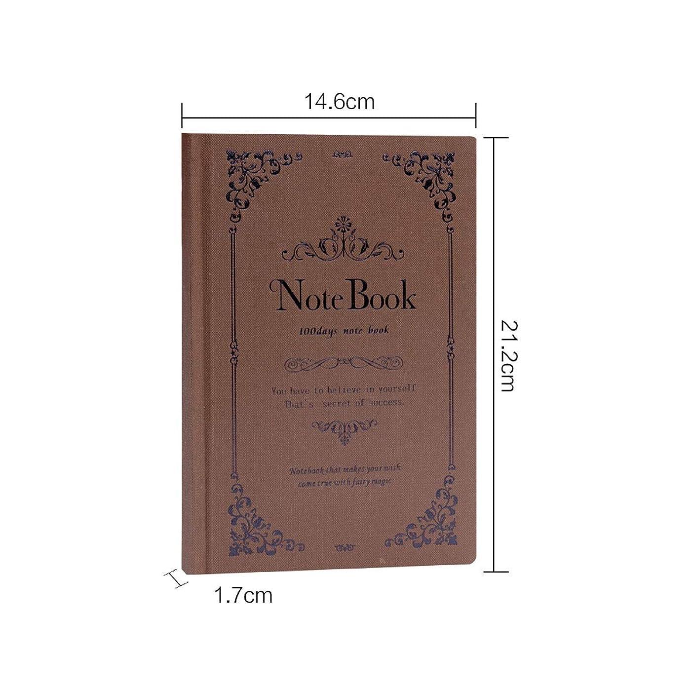 Muziwenju ギフトノートとペンセットギフトボックス、ノートセット、父の日ギフト、ノートブック、パーソナリティクリエイティブ日記、レトロなノートブック、最小限のメモ帳、さまざまなモデル 高品質の製品 7 (Style : D)