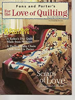 Fons & Porter's Love of Quilting Magazine, May/June 2002 (Volume 7, Number 2, Issue Number 39)