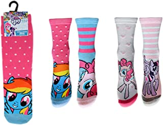 Character Finding Dory 3 PK Socks 6-2.5 Size Poly//Cotton Clothing Xmas Gift