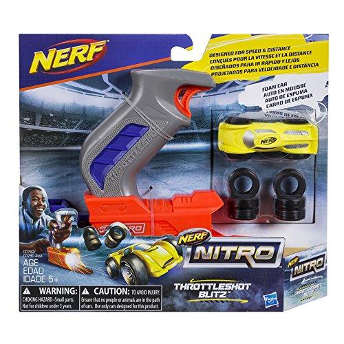 NERF Nitro ThrottleShot Blitz, Gray