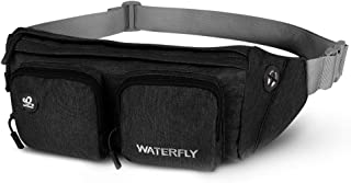 Waterfly Fanny Pack Large Size Waist Bag Hip Pack for Men Women Travel or Running Walking