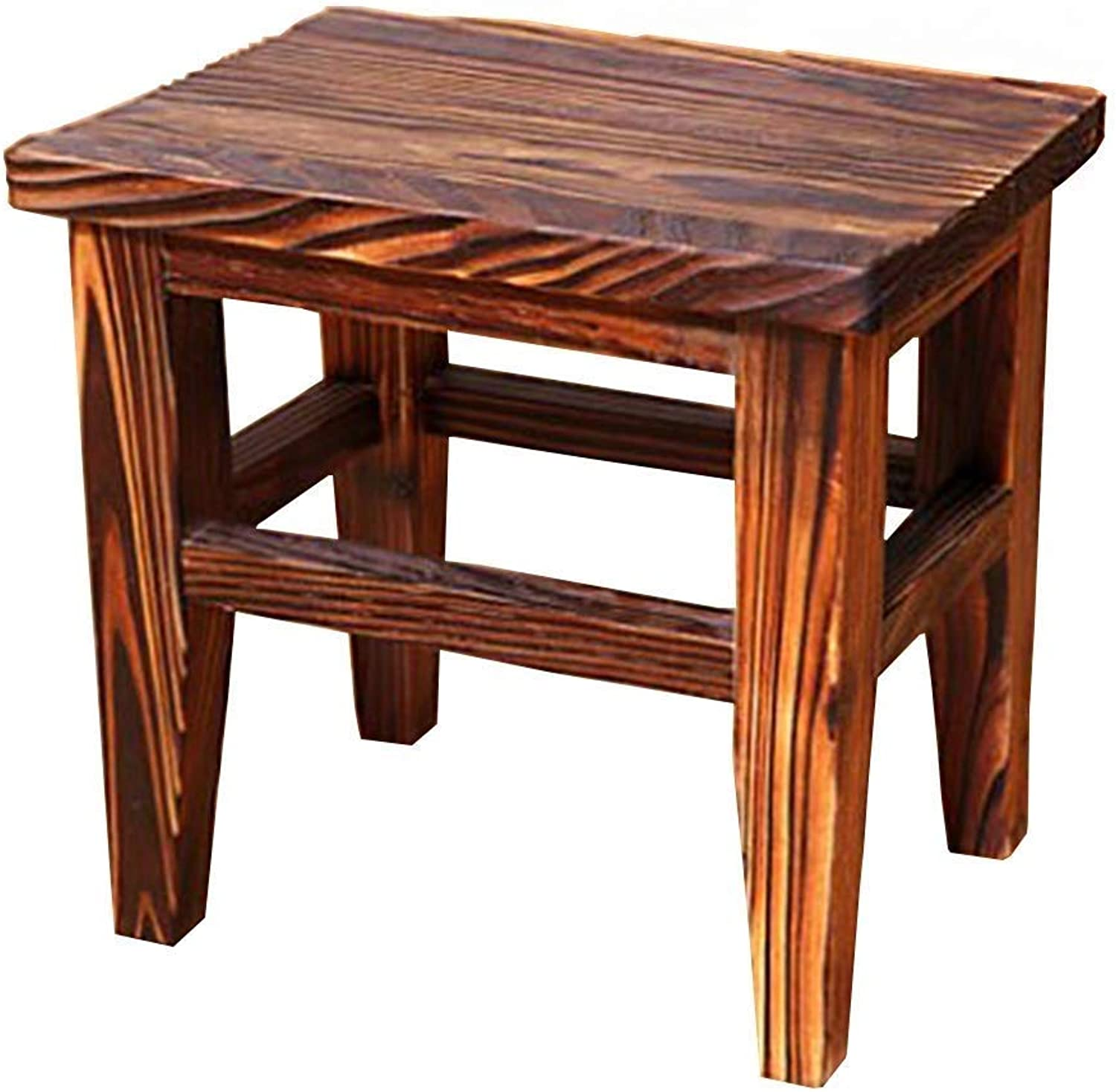 WSJTT Home Stool,Solid Wood Small Stool,shoes Stool,Coffee Table Stool,Simple Art Small Bench,Home Solid Wood Bench,Multi-Function Home Decoration Stool
