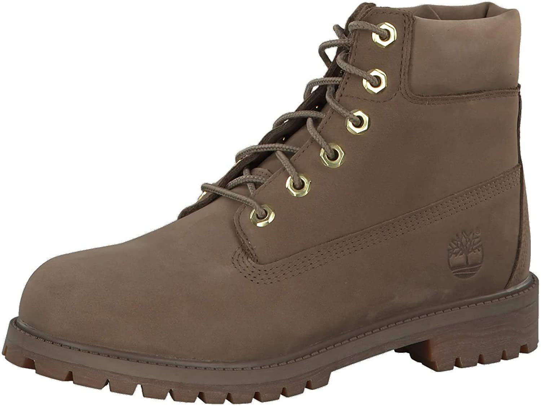 Finally popular brand Timberland Premium 6 Inch Waterproof Boot Kids' Big Sacramento Mall Dark B Shoes