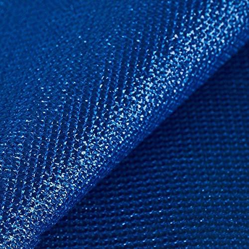 YZJL Dekorative Zäune Wasserdichtes Polyethylen 160gsm Deck Hinterhof-Schutzschirm Privacy Screen mit Edelstahl-Ösen Gartensichtschutz (Color : Blue, Size : 1x5m)