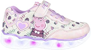 CERDÁ LIFE'S LITTLE MOMENTS Cerdá-Zapatillas Led Peppa Pig de Color Lila, Niñas
