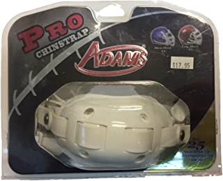 Adams USA PRO-25-4D 4-Point High Football Chin Strap with D-Rings