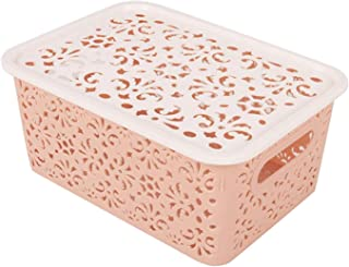 LNSTORE Boîte de Rangement Boîte de Rangement Boîte de Rangement Boîte de Bureau Boîte de Rangement PP Hollow Bra Sund Box...