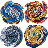 BEUTEESER 4 Pieces Burst Gyros Toy High Performance...