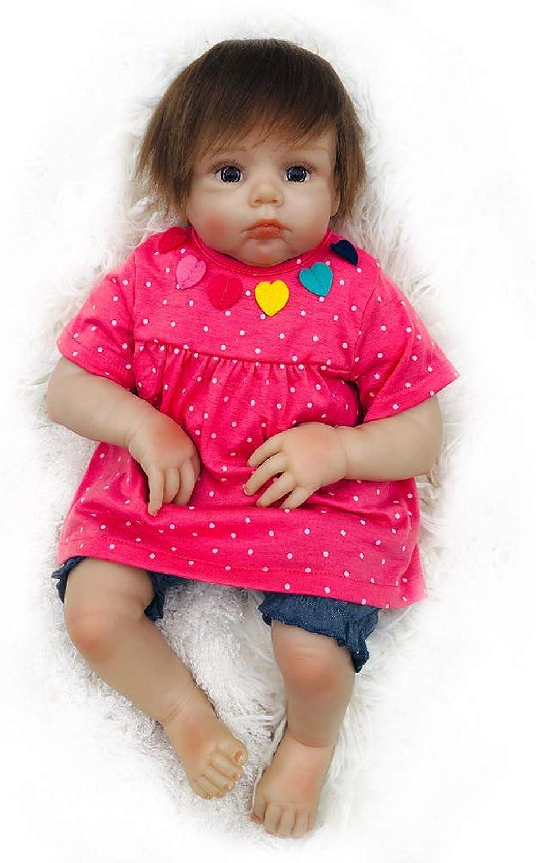 online al mejor precio Reborn baby doll tire tire tire hacia atrás suave vinilo de silicona 20 pulgadas magnética realista Niño niña juguete regalo de cumpleaños  Vuelta de 10 dias