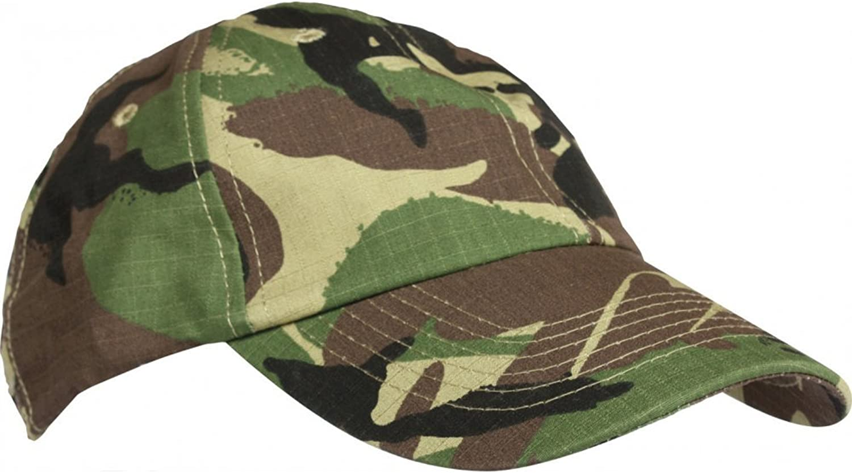 Kids Army Camouflage Cap by Milcom