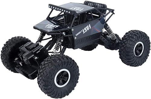 HHXWU Spielzeugauto gel efürzeugauto allradantrieb kletterndes Auto 2.4G ferngesteuertes spielzeugauto kinderspielzeug, Schwarz