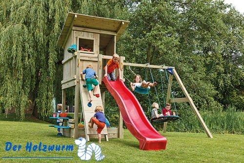 Kinderspielturm Blue Rabbit Beach Hut ca. 175x160 cm