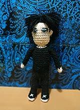 The cure Robert Smith wool doll amigurumi
