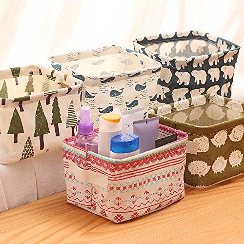 Generic Vintage Flora - Caja de almacenamiento de tela bien impresa para cosméticos o maquillaje, organizador de almacenamiento para artículos de hogar, organizador de almacenamiento para guardar envío gratis 242