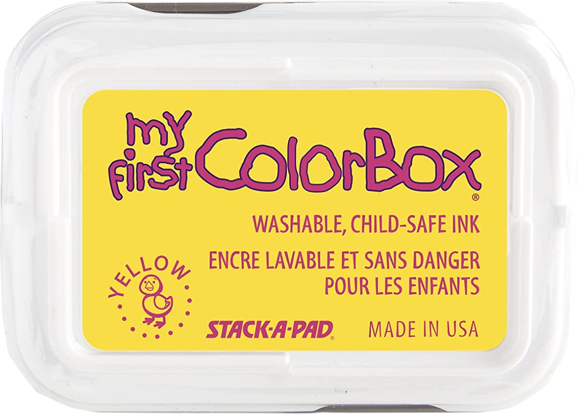 My First ColorBox Inkpads, Yellow