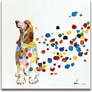 Floopy's Wall Décor Beagle Dog Canvas Wall Art Ready to Hang Painting 28
