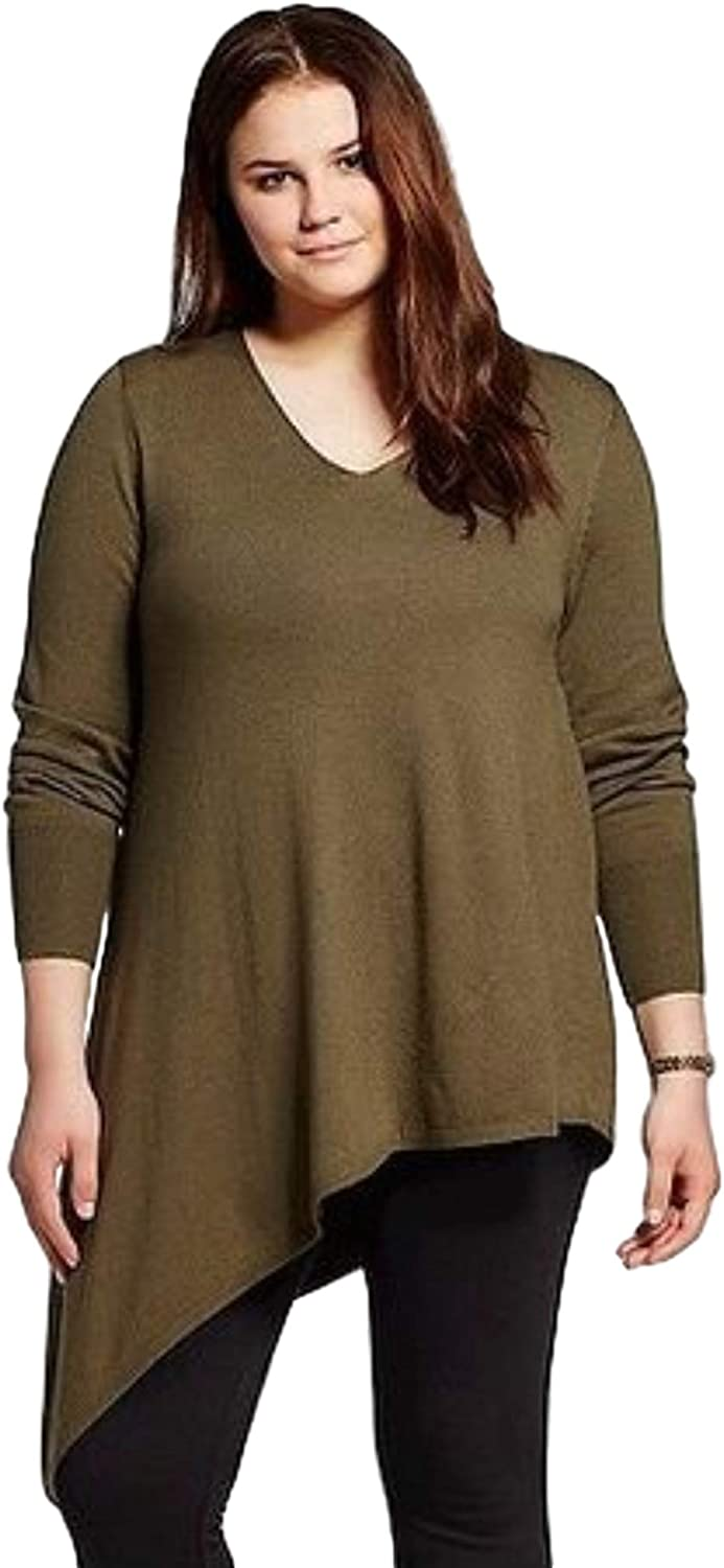 Mossimo Women's Asymmetric Sweater Tunic