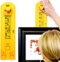 Picture Hanger Tools with Level – Picture Frame Ruler for Marking Position – Suitable on All Wall Materials