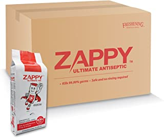 Zappy Ultimate Antiseptic 10s Wipes, 10 ct, (Pack of 15)
