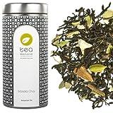 tea exclusive - Masala Chai - Schwarzer Tee mit Gewürzen, ohne zusätzliches Aroma, Indien, Dose...