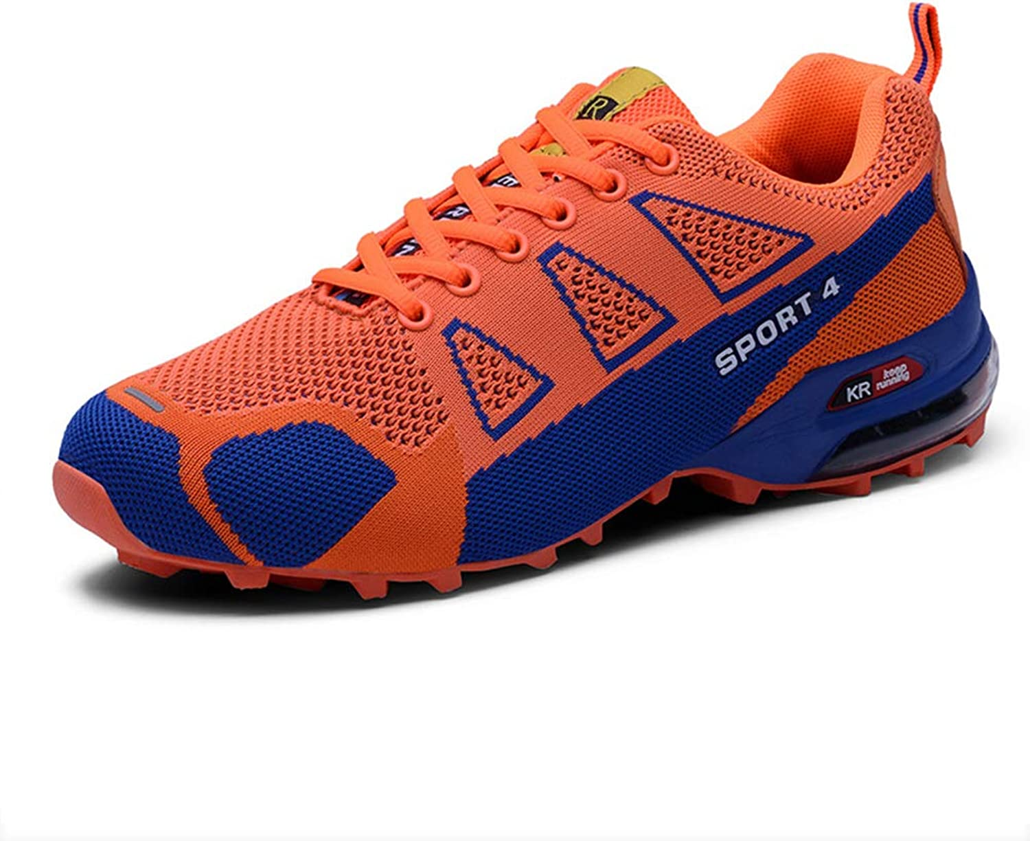 SELCNG Hiking shoes Non-Slip Ultra Light Outdoor Walking shoes Breathable Sports Climbing shoes-orange-43
