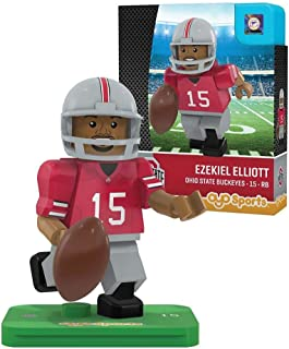 NCAA Ohio State Buckeyes Ezekiel Elliott Gen 2 Player Mini Figure, Small, Black