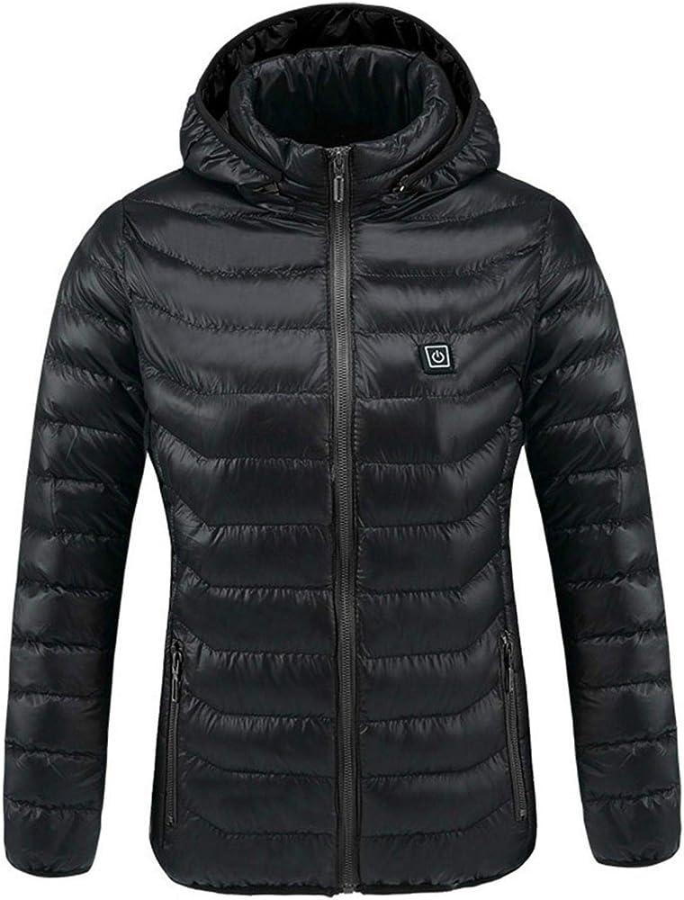 Bulary,giubbotto,piumino unisex riscaldato,tramite porta usb si ricarica,cappotto invernale caldo