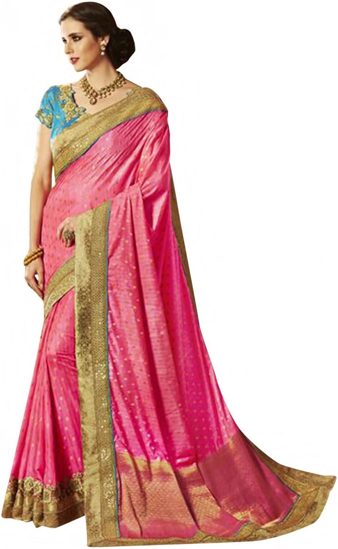 7711c4f4 New Launch Bridal Silk Saree Sari Collection Blouse Wedding Party Wear  Ceremony Muslim eid 586 18 Women ntrynr4439-New Clothing