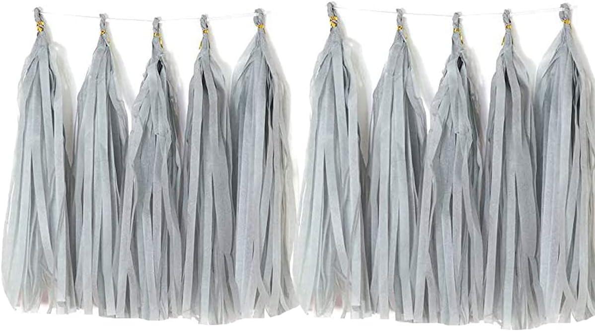 Tissue Paper Tassels Bargain sale Garland Decor Banner trend rank Table Pa