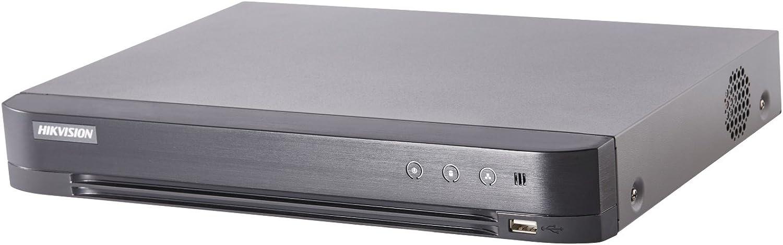 Hikvision Digital Technology DS-7208HUHI-K1 Digitaler Videorekorder (DVR) Schwarz - Digitale Videorekorder (DVR) (Schwarz, H.264,H.264+,H.265,H.265+, NTSC,PAL, 1.0 Kanle, 12 V, 8 Kanle)