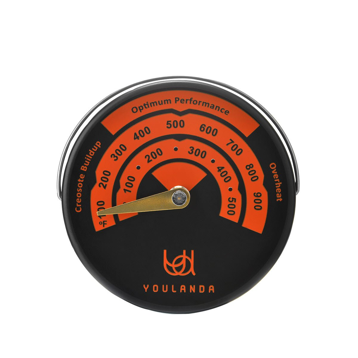 Household Stove Pipe Temperature Flue Pipe Magnetic Oven Thermometer Wood Burner