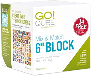 AccuQuilt GO! Qube Mix & Match 6