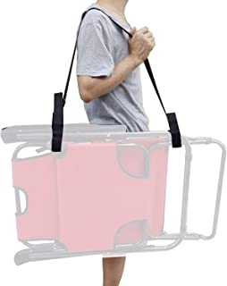 YYST Carry Strap for Beach chair Folding Chair - (Chair Not Included) - Easy to Use - Easy to Carry-1/PK