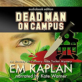 Dead Man on Campus audiobook cover art