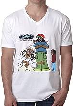Aswad Cool Summer Reggae T Shirt Men V Neck