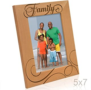 Kate Posh - Family Picture Frame (5x7-Vertical)