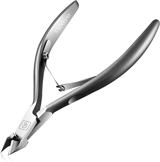 Cuticle Nippers 1/2 Jaw Extremely Sharp Cuticle Trimmer Scissors Stainless Steel Nail...