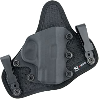 StealthGear USA SG-Ventcore IWB Mini Hybrid Holster - tuckable, Adjustable, Inside Waistband Concealed Carry Holster - Made in USA