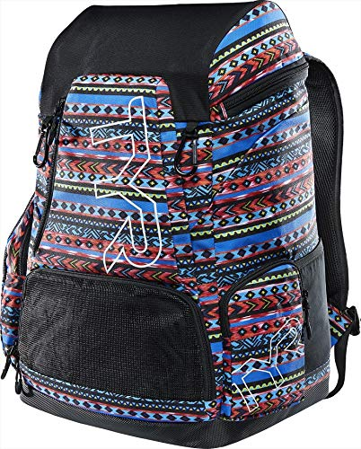 TYR(ティア) プールバッグ ALLAIANCE 45L BACKPACK SANTA FE PRINT LATBPSF ML(960) FREE