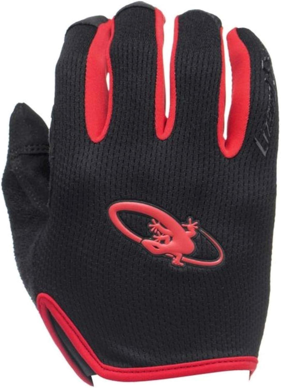 Lizard Skins Monitor Kansas City Mall Gloves: MD Red Black High order