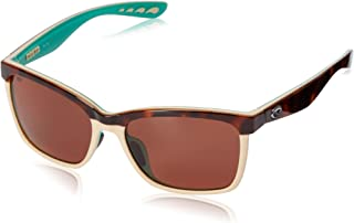 Costa Del Mar Women's Anaa Rectangular Sunglasses