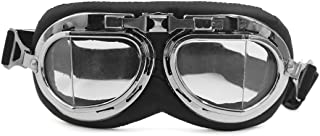 Generic Foldable Motorcycle Bike Dustproof Glasses Scooter Cruiser Helmet Pilot Goggles
