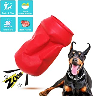 FURUISEN Squeaky Dog Toys for Aggressive Chewers Large Breed Medium Small Puppy Dogs Chew Toy with Toothbrush Teeth Cleani...