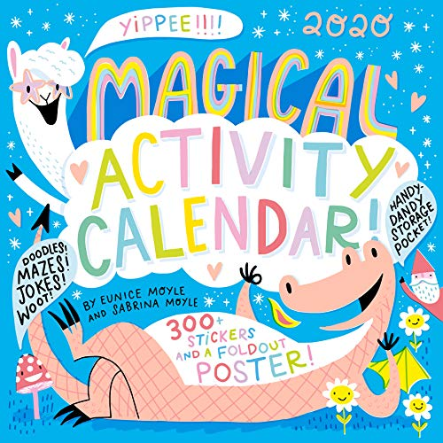 Magical Activity Wall Calendar 2020
